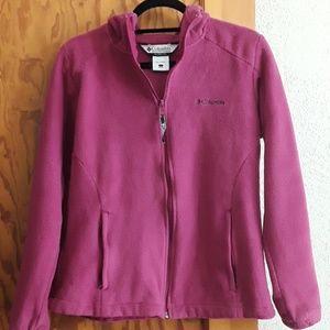 Columbia hoodie, Sz L, Full zip